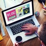 Blog Weblog Media Online Messaging Notes Concept